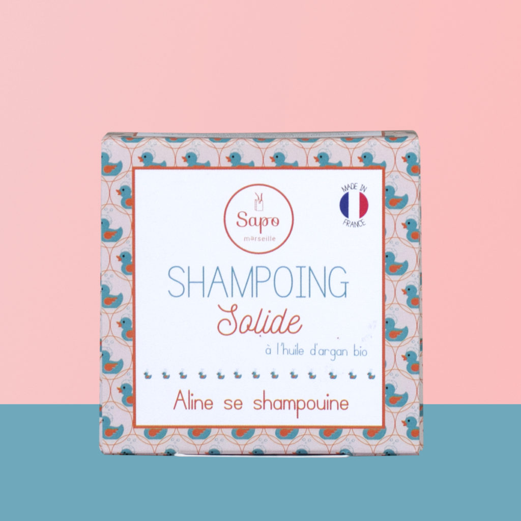 Shampoing solide naturel qui mousse